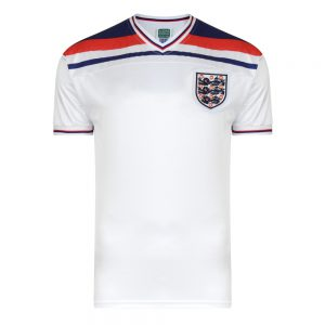 England home shirt 1982