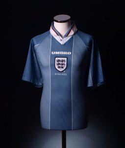 England 1996 away shirt