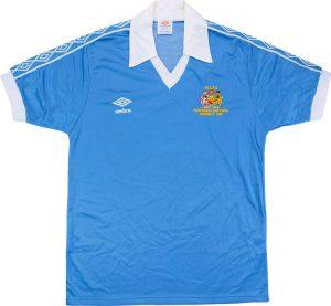 Manchester City retro home shirt 1981