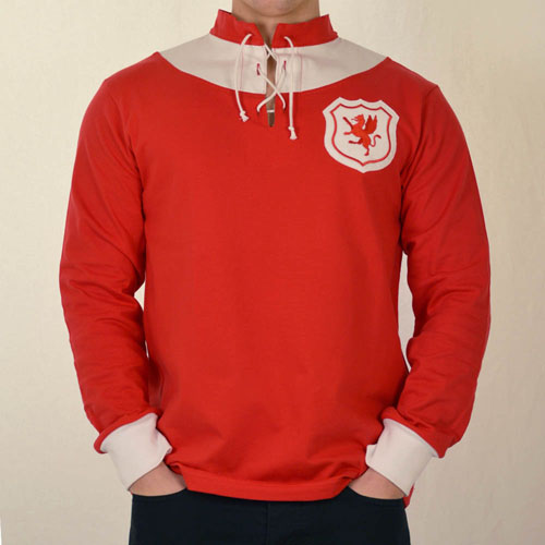 Classic Wales Football Shirt of 1920