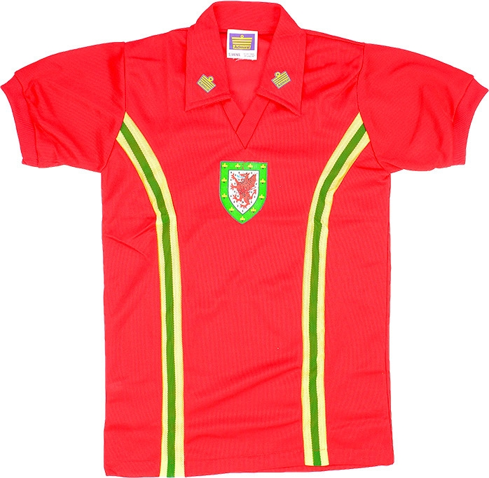 Classic Wales Football Shirt of 1974