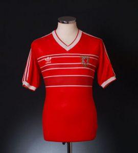 Wales 1984 home shirt