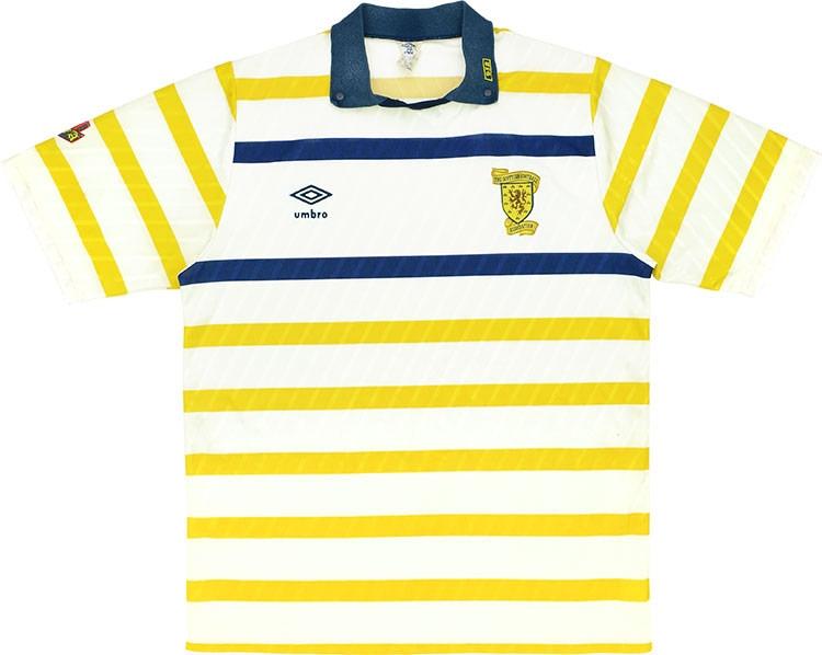 Scotland Away Shirt 1988