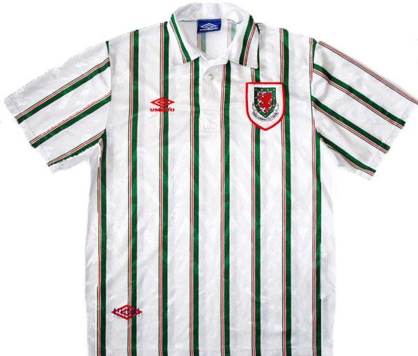 Wales 1993 away shirt