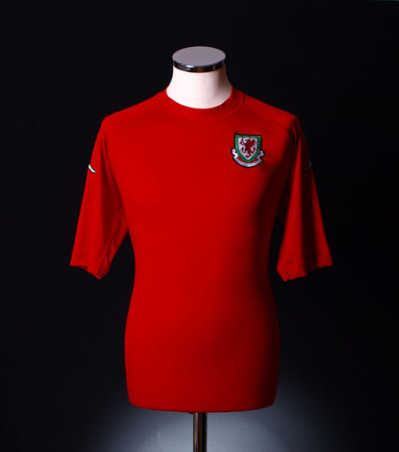 Wales 1996 home shirt