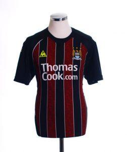 Manchester City retro away shirt 2008