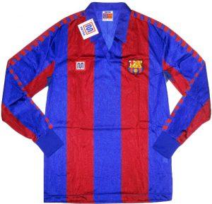 Barcelona home shirt 1986