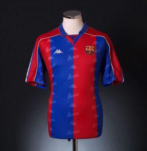 Barcelona home shirt 1992