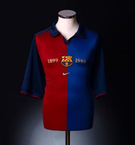 Retro Barcelona Shirts 1999-2000 home shirt
