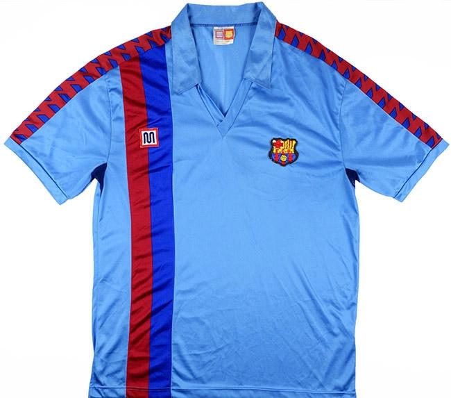 Barcelona third shirt 1989