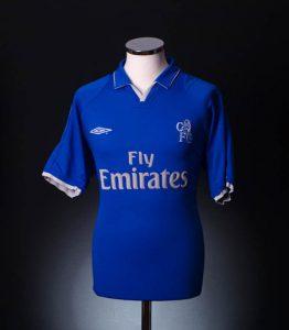 Chelsea Home Shirt 2001