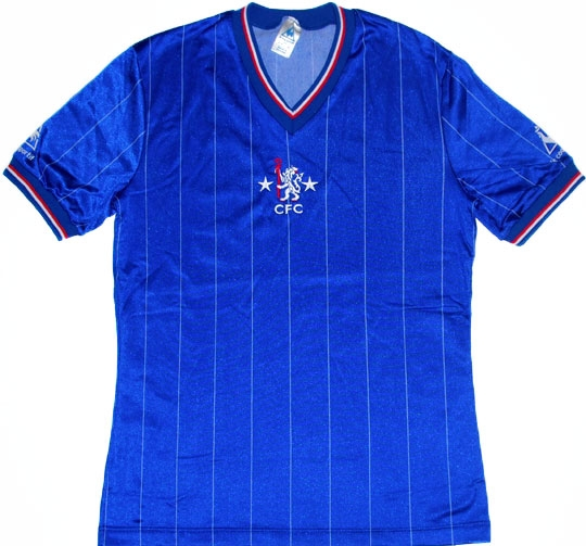 Vintage Chelsea Shirts 1981 home shirt
