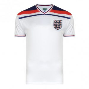 England home shirt 1982