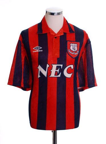 Retro Everton Shirt 1992 away