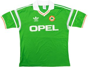 Retro Ireland Football Shirt 1988