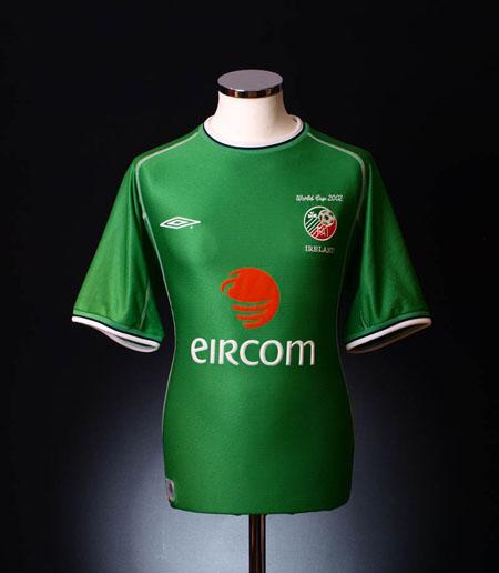 Ireland Home Shirt 2002