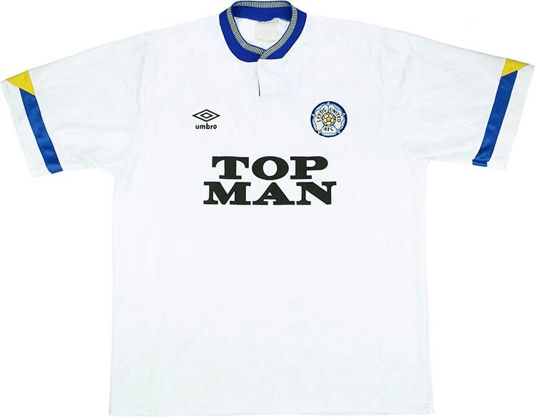 Leeds Home Shirt 1990