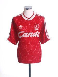 Liverpool Home Shirt 1989
