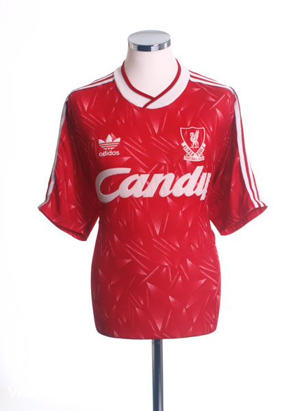 Retro Liverpool Shirts - 1989 home