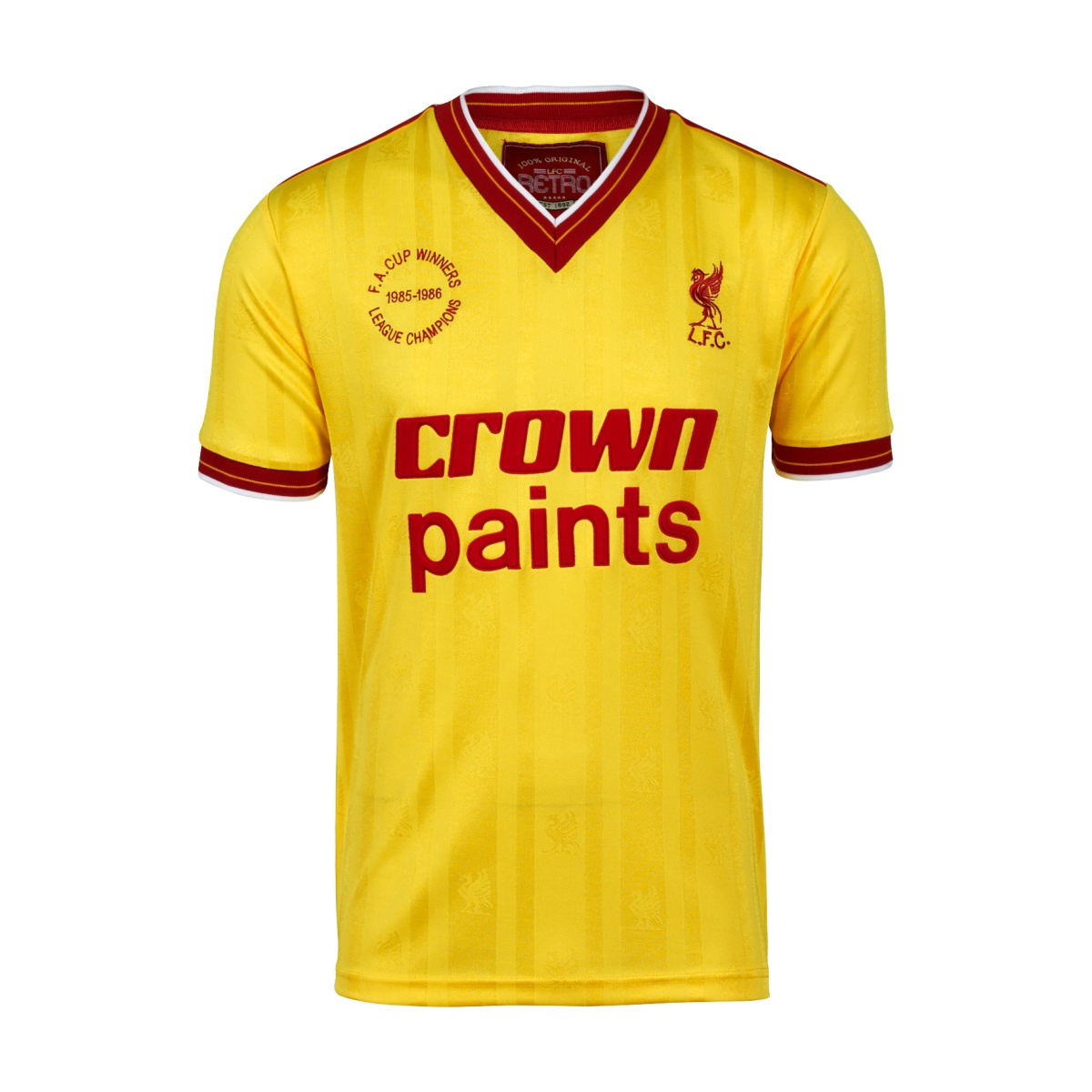 Retro Liverpool Shirts 1985 away