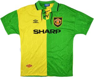 Manchester United third shirt 1992