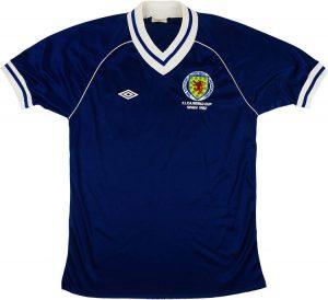 Scotland Home Shirt 1982
