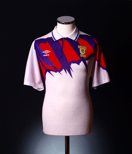 Retro Scotland Shirt 1991 home