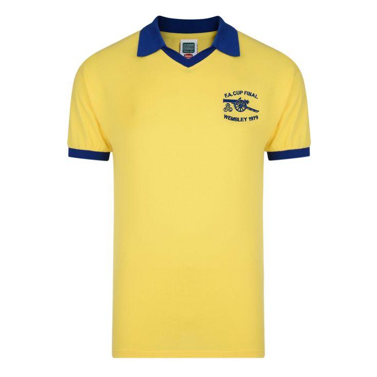 Retro arsenal shirt 1979 cup final