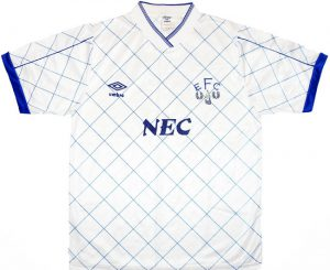 Everton third shirt 1992