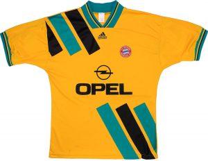 Bayern Away Shirt 1993