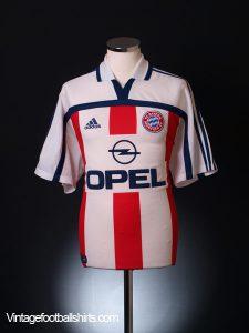 Bayern Away Shirt 2001