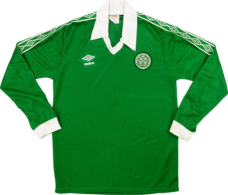 Celtic Retro Shirts 1978 home