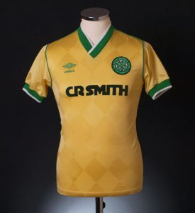 Celtic 1986 away shirt