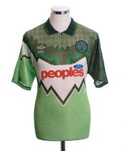 Celtic 1991 away shirt
