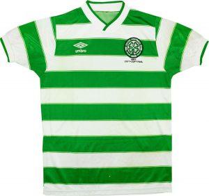 Celtic 1985 home shirt