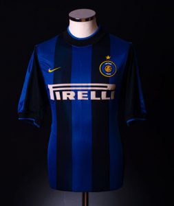 Inter Milan retro shirt home 2000 shirt