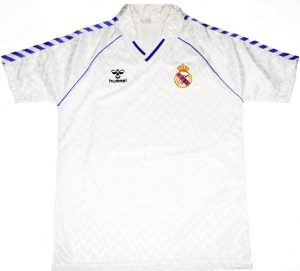 Real Madrid Home Shirt 1986