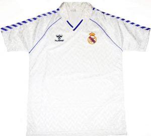Retro Real Madrid shirt 1986