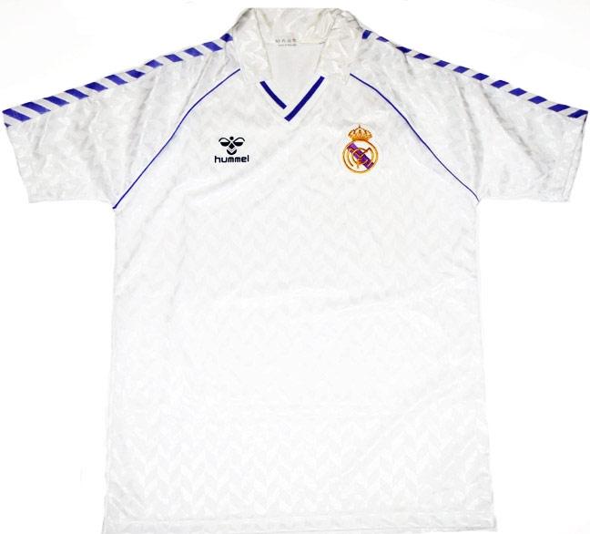 Real Madrid Home Shirt 1986