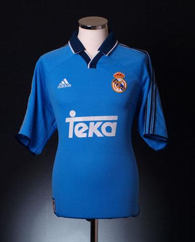 Real Madrid Third Shirt 1999