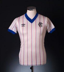 Classic Rangers home shirt 1982
