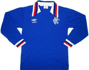 Classic Rangers home shirt 1978
