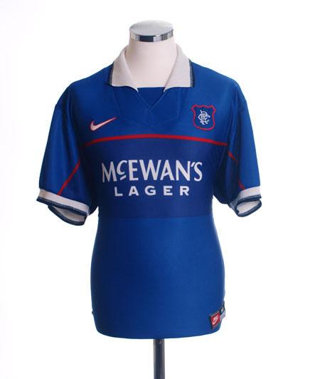 Classic Rangers home shirt 1997