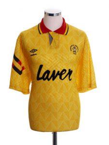 Sheffield United Retro Shirts 1991 away