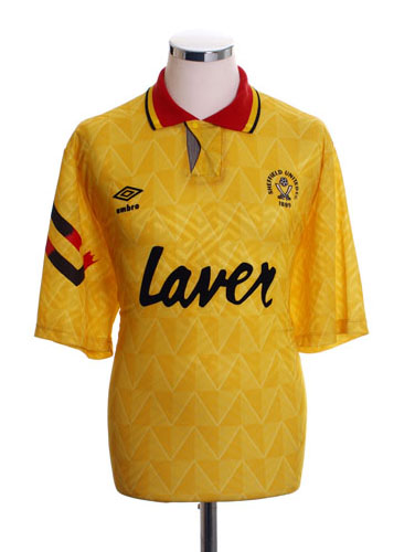 Sheffield United Away Shirt 1991