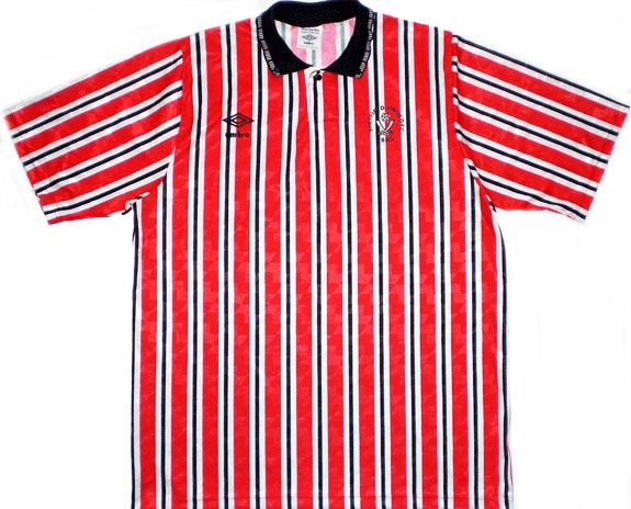 Sheffield United Retro Shirts 1990 home
