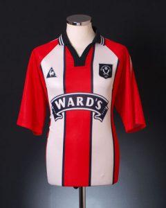Sheffield United Home Shirt 1997