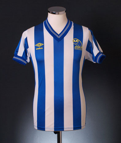 Retro Sheffield Wednesday shirts 1985 home