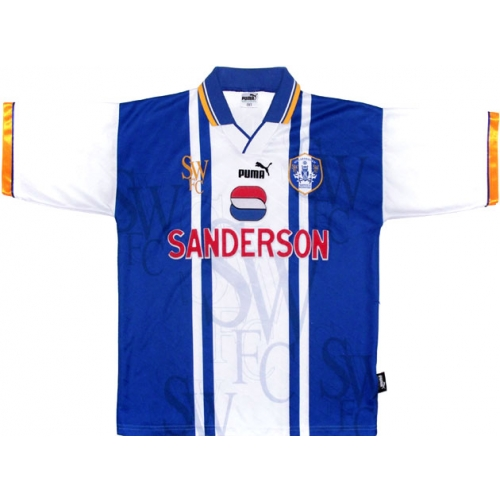 Retro Sheffield Wednesday shirts 1995 home