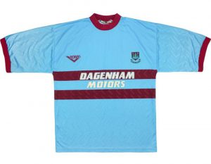 West Ham Away Shirt 1993